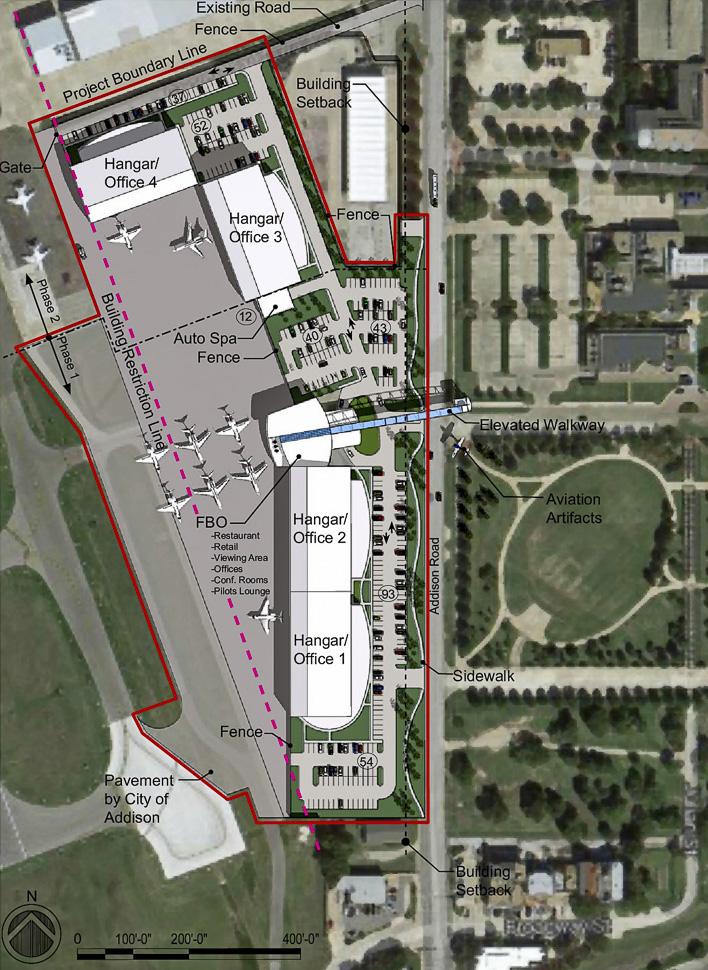 Addison Airport   Site Plan