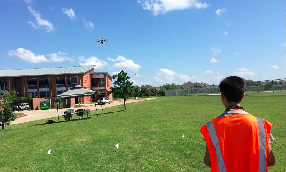 UT Dallas drones