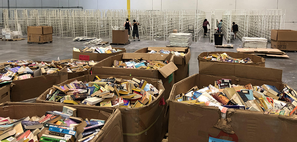 ThriftBooks warehouse