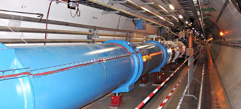 Dallas researchers physics CERN
