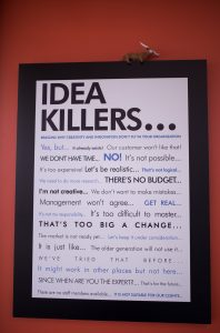 Idea killers at Peterbilt. Photo by James Coreas