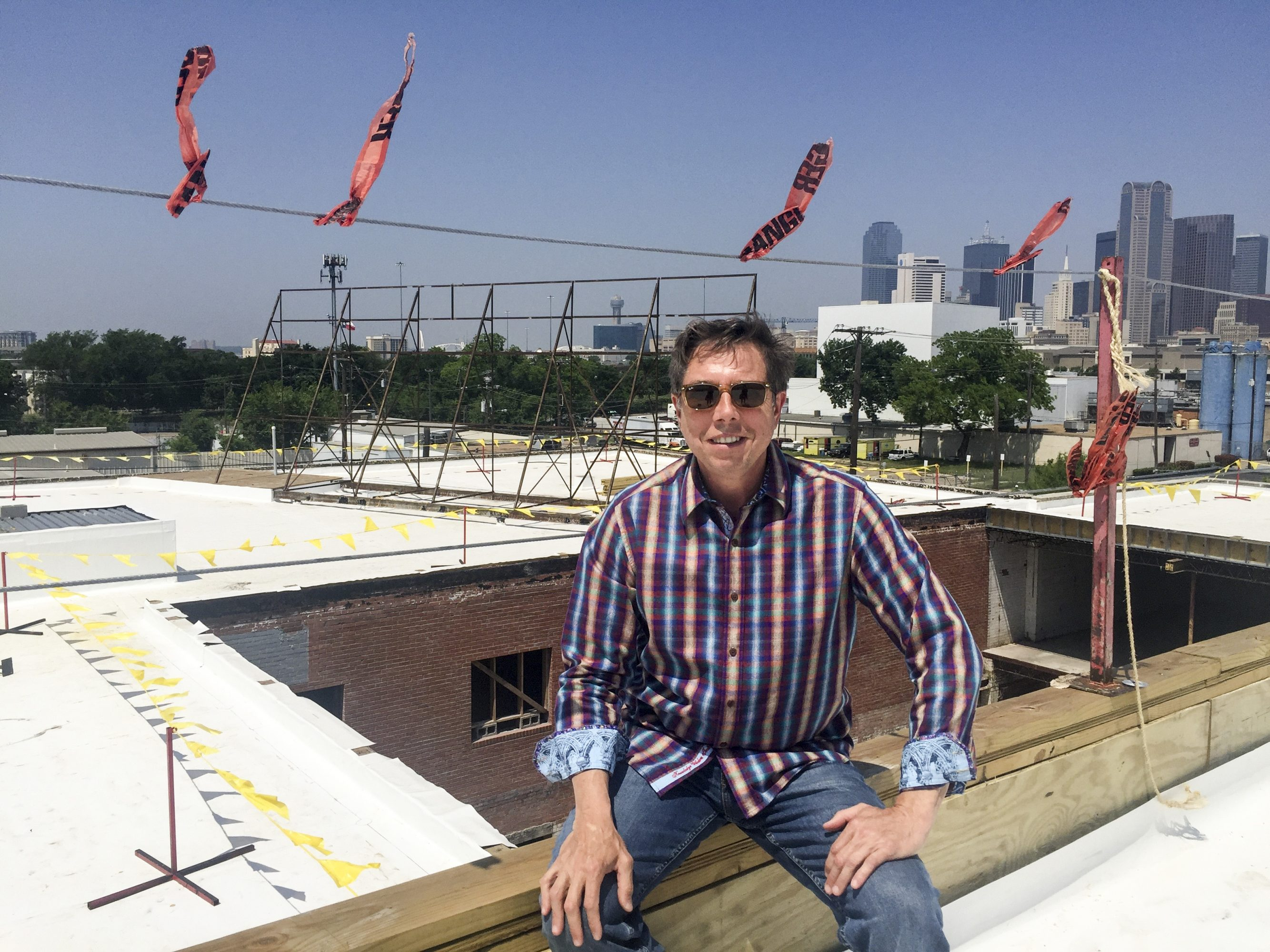 Architect Gary Gene Olp has been working on the 1808 project.