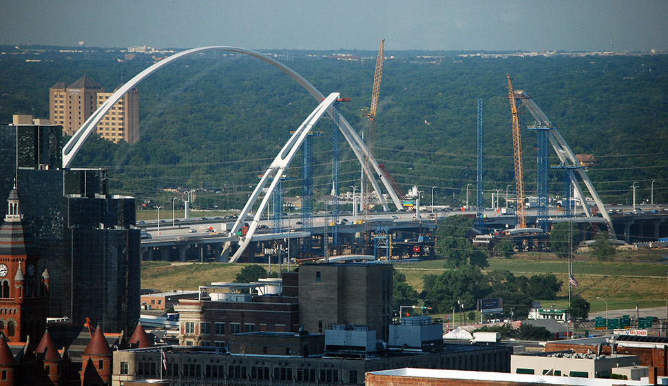 A section of Interstate 30 would be moved south to near Fair Park under the CityMap proposal. (Photo by Lance Murray)