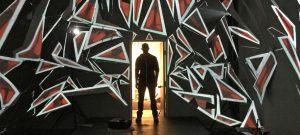 Digital Dallas < Art/Code > featured artist Eric Trich. [Photo via Digital Dallas]