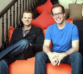 Fandeavor founders, Tom Wellington and Dean Curtis.