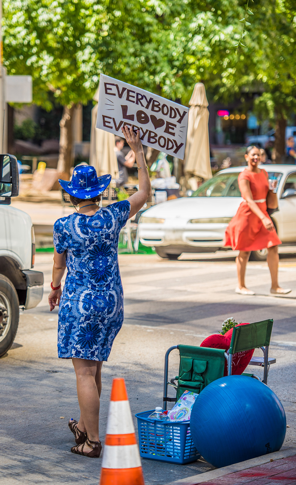 Everybody love everybody parking day dallas