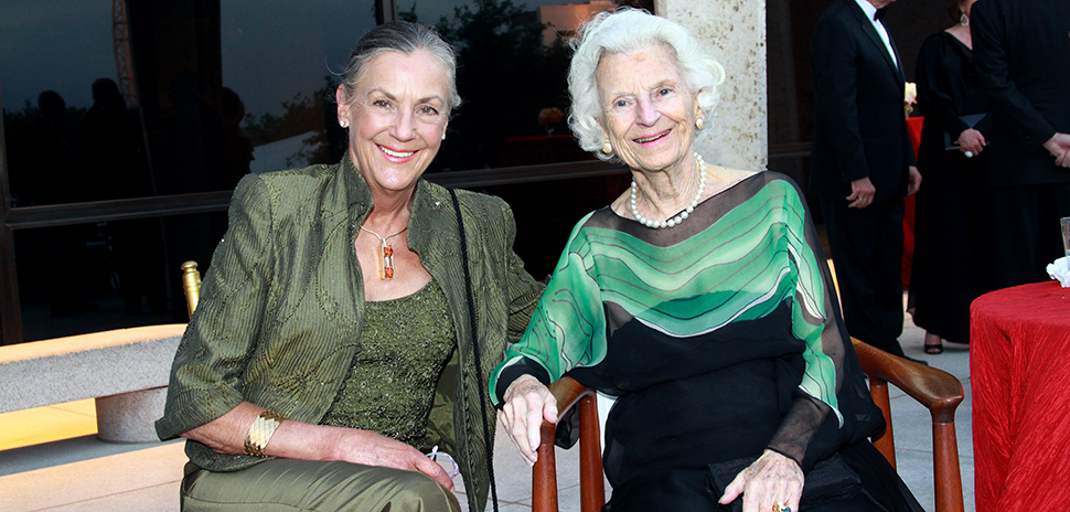 Alice Walton and Ruth Carter Stevenson