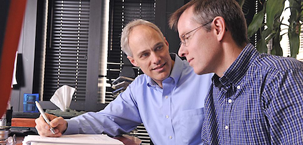Dr. David Mangelsdorf and Dr. Steven Kliewer