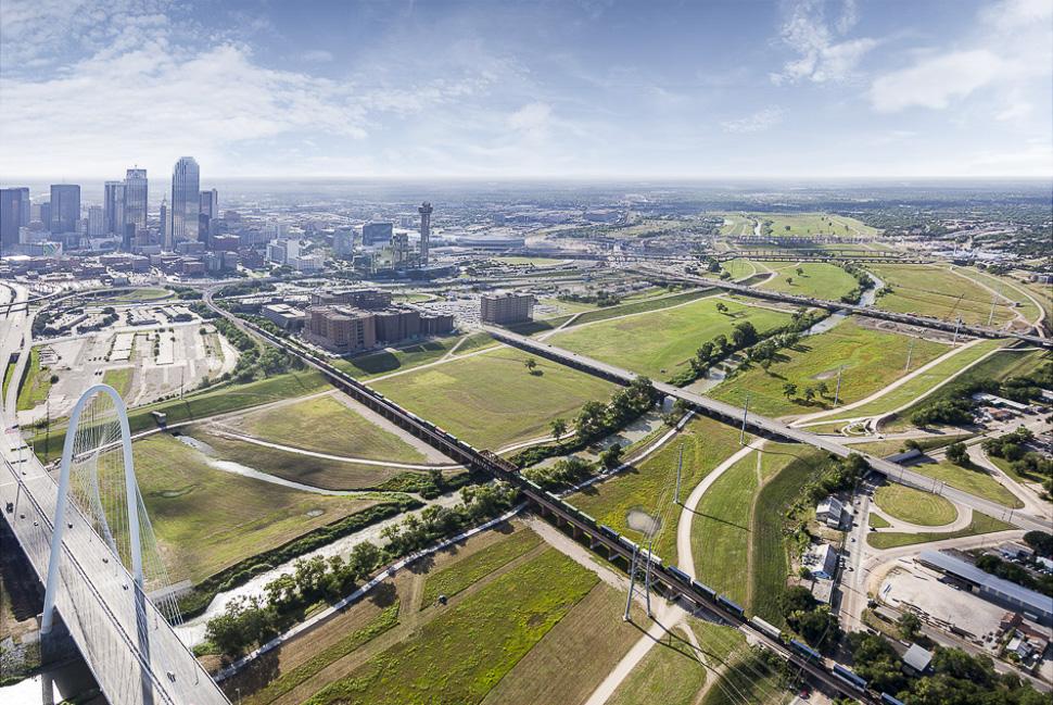 Trinity River Park concept