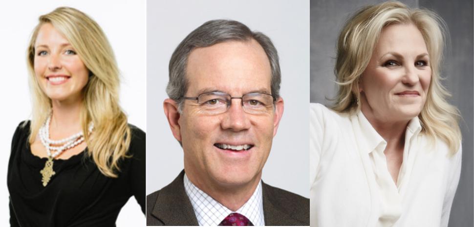 Brittany Merrill Underwood, Howard MacDowell and Melissa Reiff