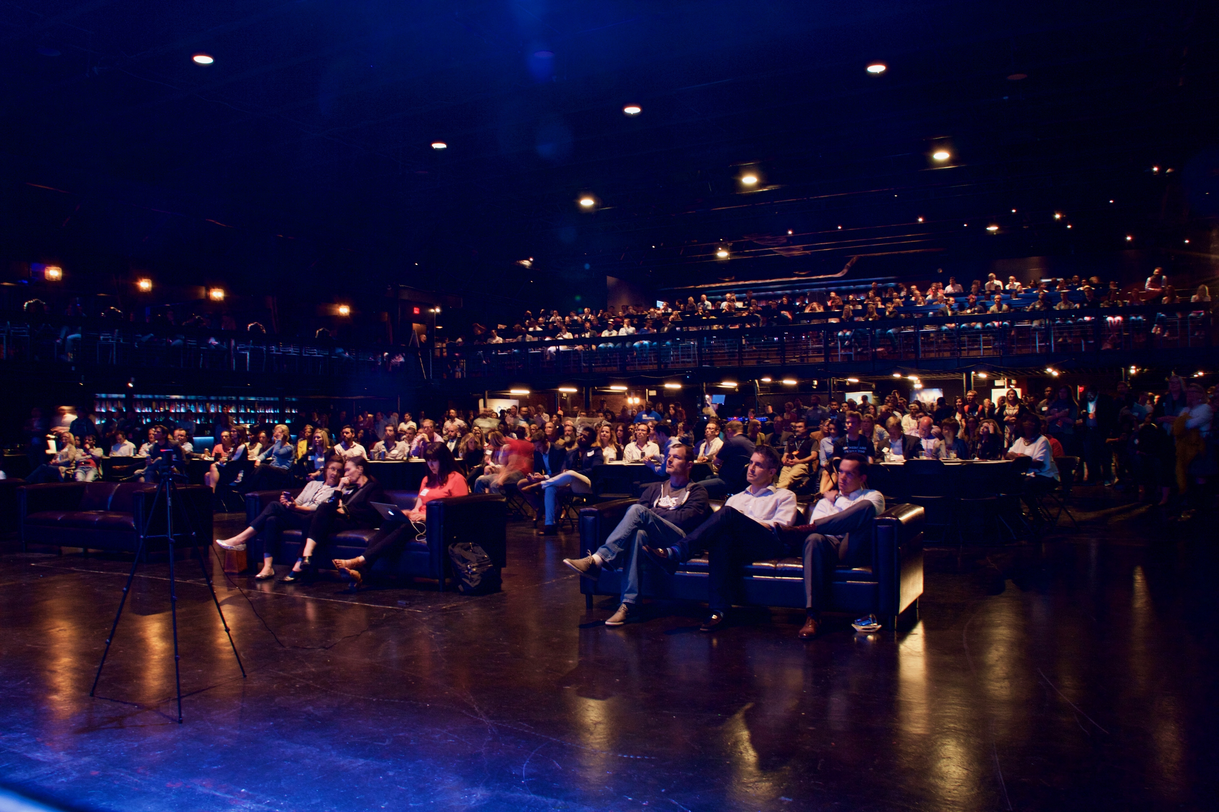 The audience at the State of Entrepreneurship.