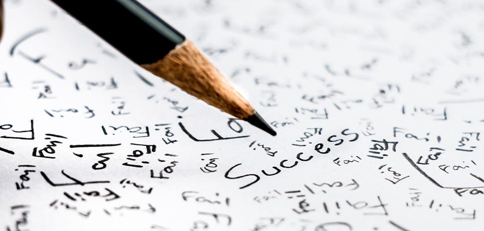 Find success among failure. [ IMAGE: Yukikae4b via istockphoto ]