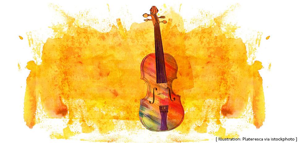Artistic violin