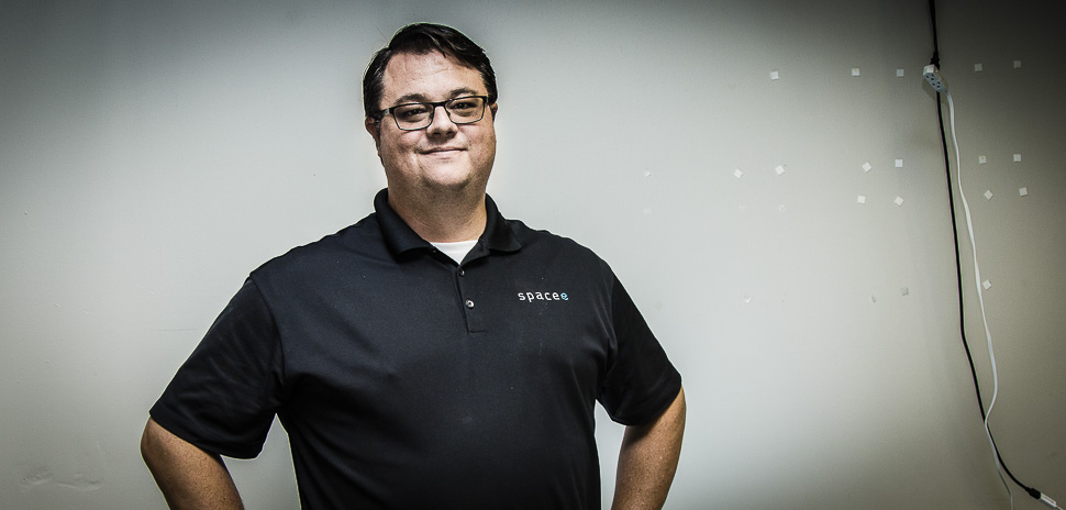 Spacee CEO and co-founder Skip Howard. [Photo: Chase Mardis]