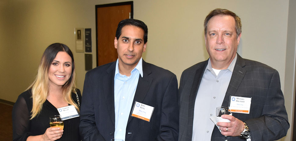 Vanessa Miller, The Intersect Group Client Manager; Ajay Patel, Mary Kay Director of Data & Infrastructure Services; Michael Halydier, Mary Kay Manager, Global Data Center Operations/Engineering