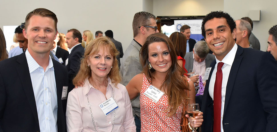 Quinn Leinen, Coupa Sales Executive; Elizabeth Hecksel, former Southwest Airlines Pilots' Association Director of IT; Shay Story, Optomi Account Executive; Alejandro Jacobo, Ally Technology Business Development Specialist