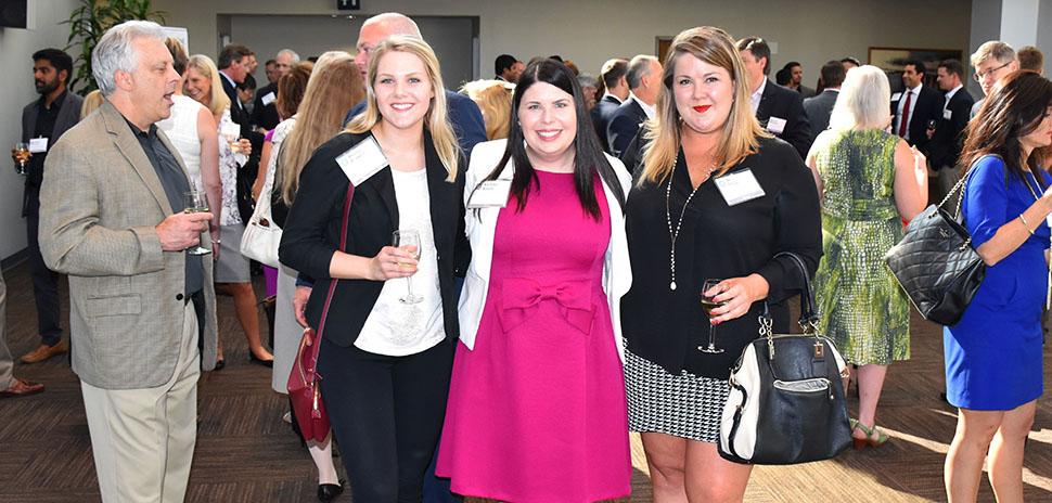 Brooke Burnett, Epitec Technical Recruiter; Katrina Baker, SEI – Systems Evolution, Inc. Senior Consultant; Bri Crow, Zyston Business Development Manager