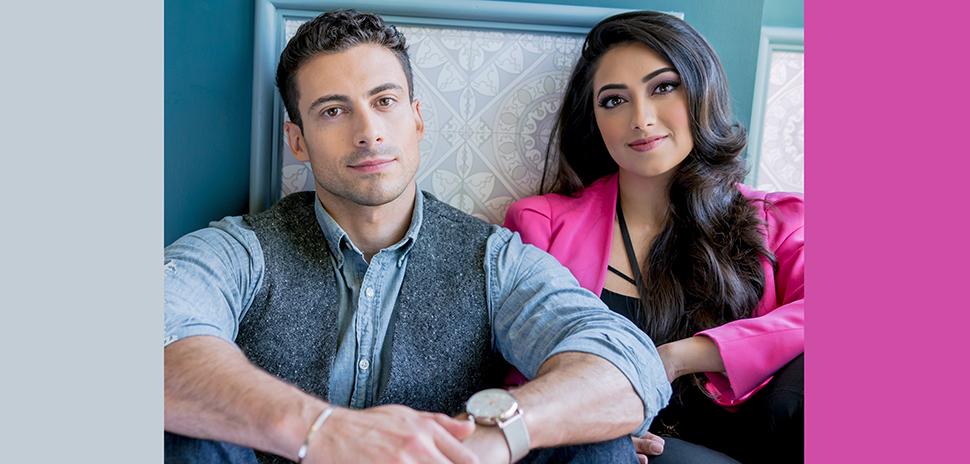 Jared Skinner and Shama Hyder