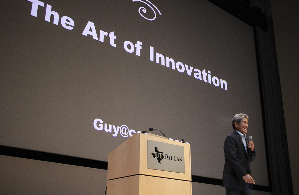 "Guy Kawasaki on ""The Art of Innovation"" at UTD Big Idea Competion 2017"