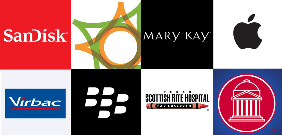 Patents were assigned to Apple Inc., Mary Kay, San Disk, Texas Scottish Rite Hospital for Children, Omnitracs