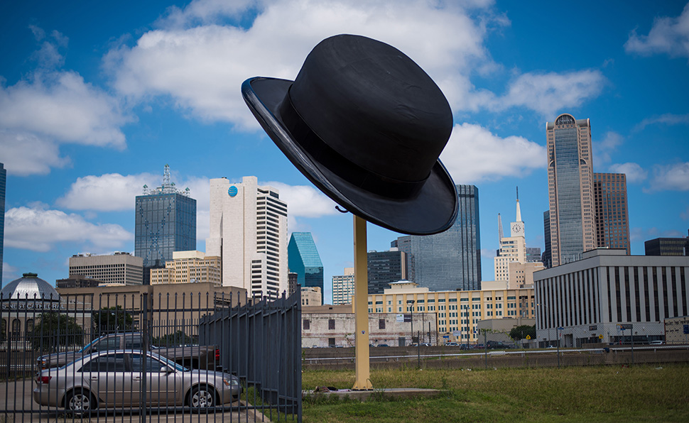 The Bowler Hat in the Dallas' The Cedars neighborhood.