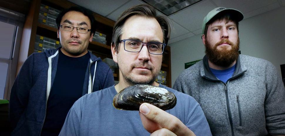 Dr. Kentaro Inoue, Dr. Charles Randklev, and Michael Hart
