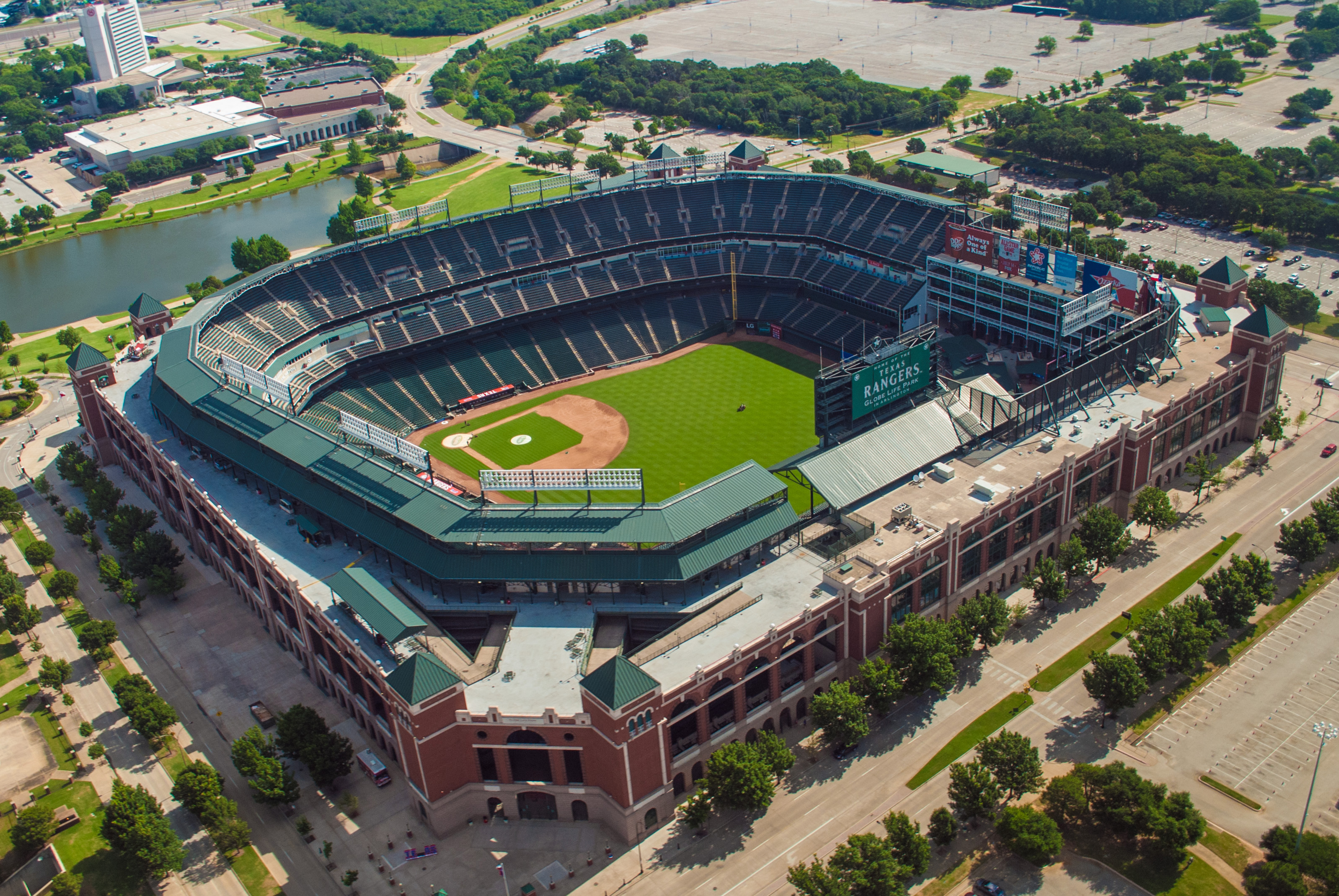 The current Globe Life Park, originally know as the Ballpark in Arlington, opened in 1994.