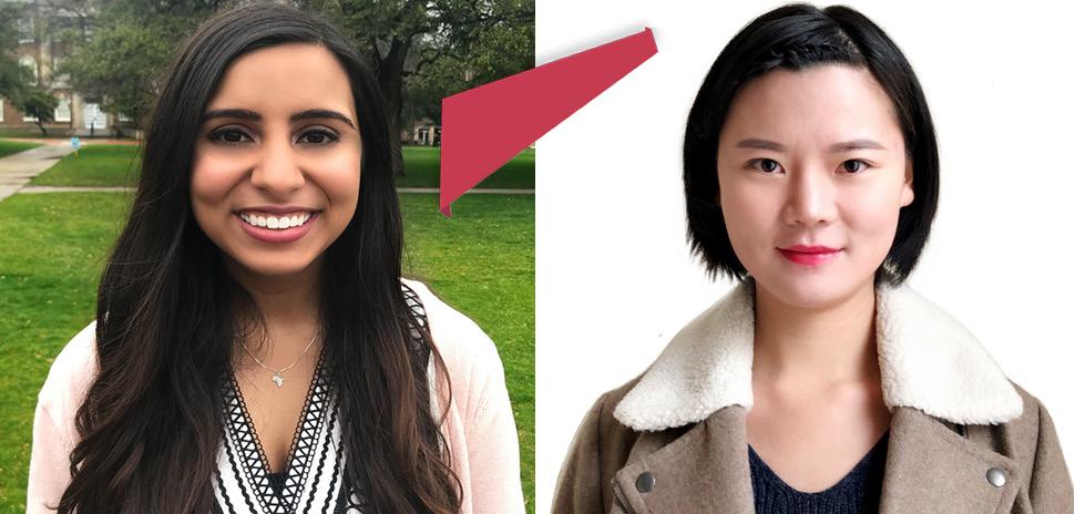 Neha Husein And Elaine Wang