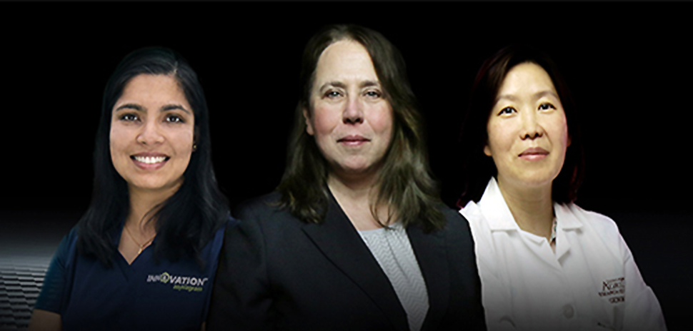 Drs. Ambika Chandra, Jeanmarie Verchot, and Qingyi Yu