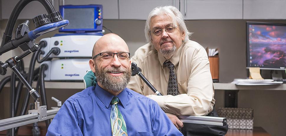 Dr. Michael Motes and Dr. John Hart Jr.