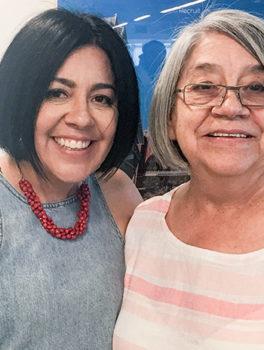 Debra Cano nd Armida Ortega of Kessler Pie co.