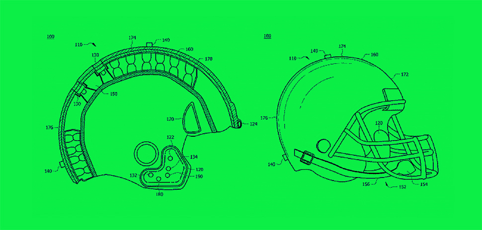 A patent was granted to Joshua RD Technologies Interactive helmet system and method interactive helmet system and method for reducing brain injuries may provide a helmet and at least one inflatable air pouch. The at least one inflatable air pouch may remain in an active position and may pressurize or further inflate in response to an impact with a surface. Over a predetermined time period, the at least one inflatable air pouch may not depressurize and may instantly pressurize or further inflate. The at least one inflatable air pouch may have an air pouch pressure that increases to a higher pressure and may protect users from brain injury at high impact forces.