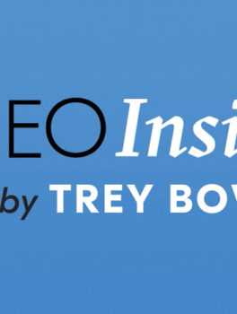 The CEO insider video podcast hosted by Trey Bowles