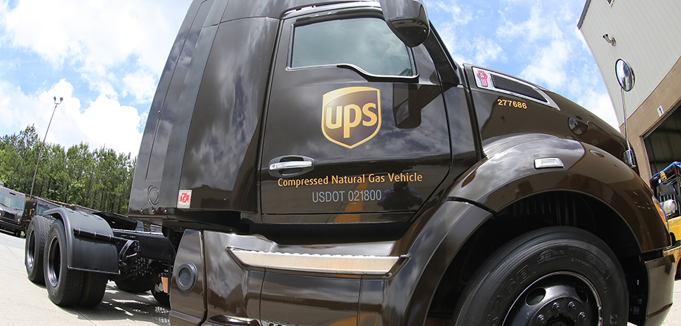UPS - Compressed Natural Gas