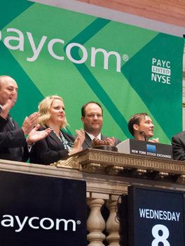 Paycom bell ringing