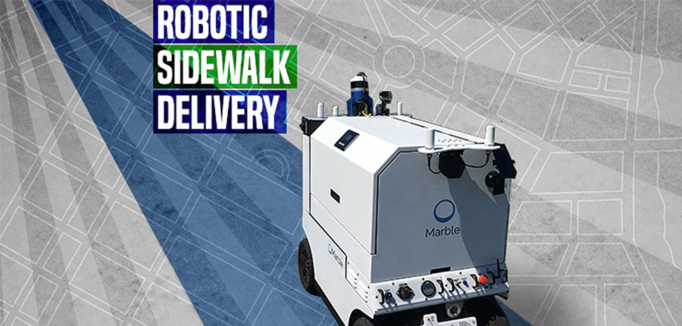 Robotic delivery