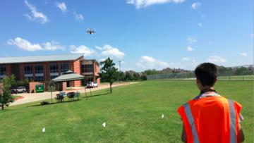 UT Dallas drones