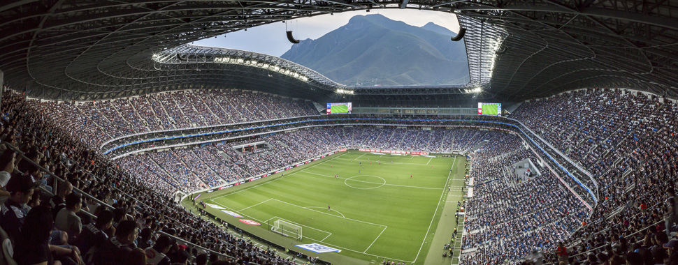Monterrey, Mexico's soccer stadium