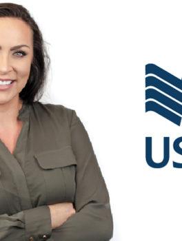 Tatiana Miller, executive director of design at USAA [Photo, logo: USAA]