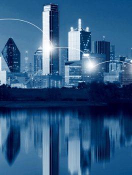 Dallas skyline at dawn