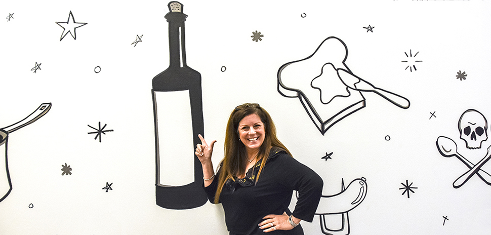 BuzzBallz CEO Merrilee Kick at PilotWorks Dallas, a food incubator in Northwest Dallas.