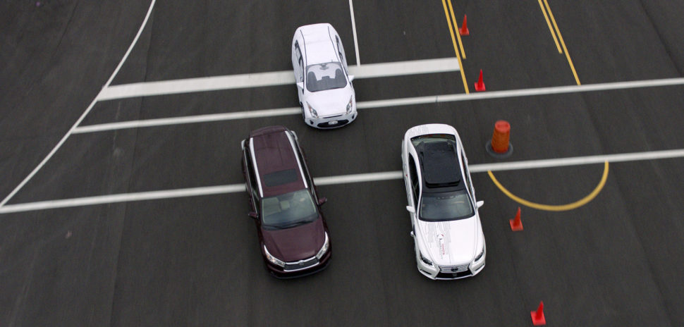 At CES 2019, Toyota announced it was developing its Guardian autonomous vehicle safety system that could anticipate a pending incident and employ a corrective response in coordination with the driver. [Photo: Toyota Newsroom]
