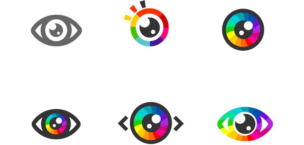 Eye symbol icon
