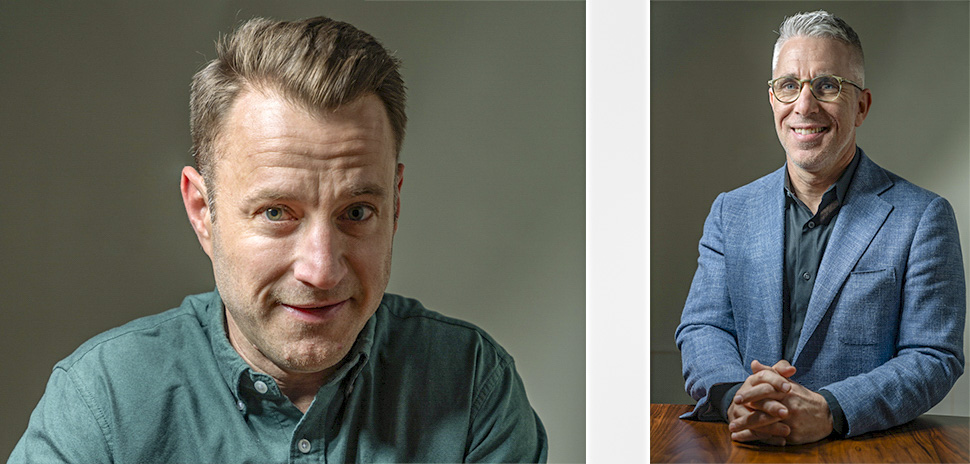 Kent McKeaigg, Andrew Sevin [Photo: Rebeca Posadas-Nava]