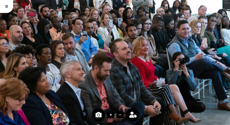 DHD launched its new GIGA 360º post-event photo platform during Dallas Startup Week 2019.