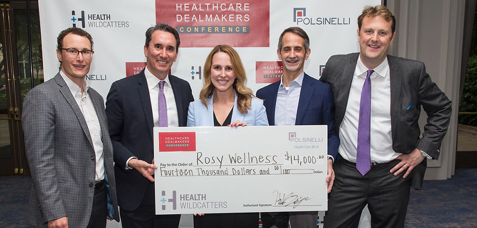 Healthcare Dealmakers rosy wellness Pitch