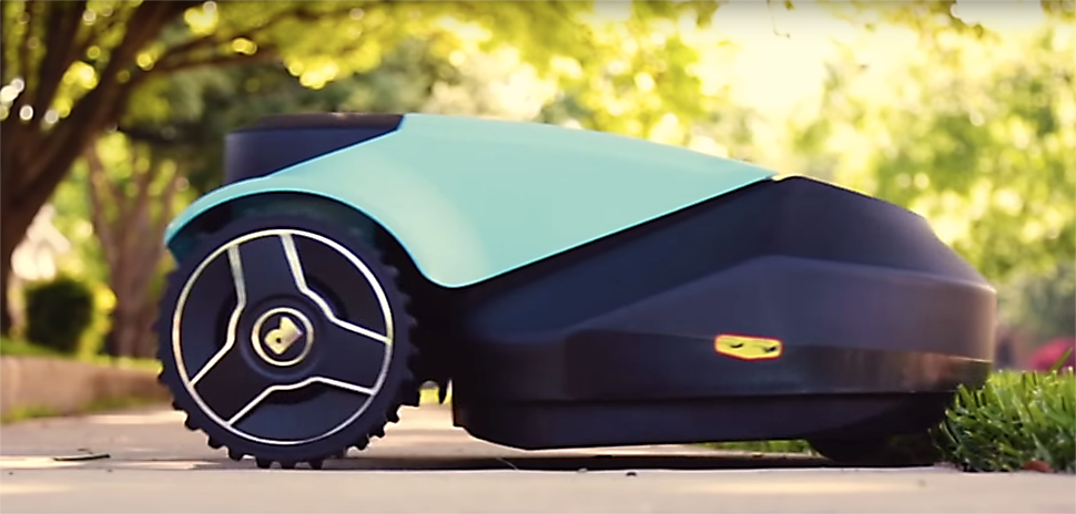 Dallas Based Robotic Lawn Mower Startup Robin Exits To
