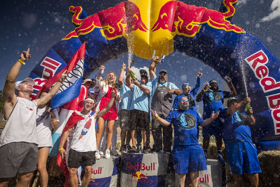 Celebration at Red Bull Soapbox Race Dallas 2019 at Austin Ranch, The Colony