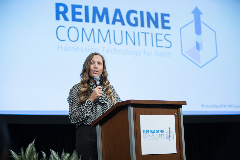 Capital One Financial Services Reimagine Communities Summit: Harnessing Technology for Good.