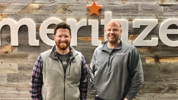 Founded in 2016 by Chief Executive Officer Chris Keaveney (right) and Chief Credit & Analytics Officer Phillip Stegner, the fast-growing education lender has raised a total of $23.4 million in funding, according to Crunchbase. [Photo via Meritize]